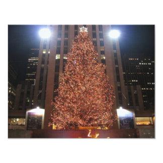 Christmas Tree Rockefeller Center Card