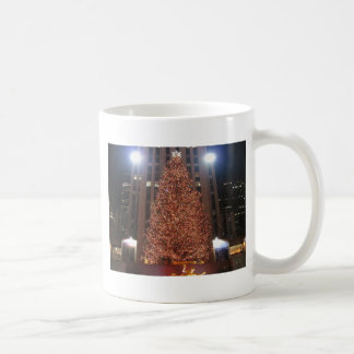 Christmas Tree Rockefeller Center Coffee Mugs