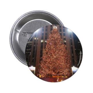 Christmas Tree Rockefeller Centre Buttons