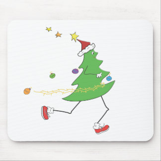 Christmas Tree Runner Mouse Pad