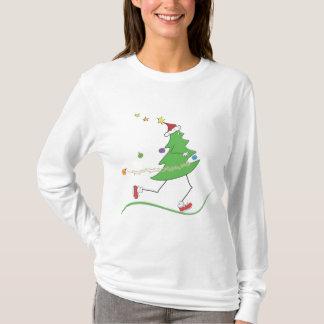 Christmas Tree Runner © T-Shirt