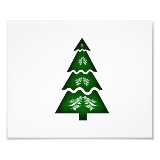 Christmas Tree Sectional call ornament 2 Photo Print