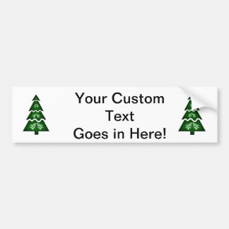 Christmas Tree Sectional call ornament 2 png Bumper Sticker