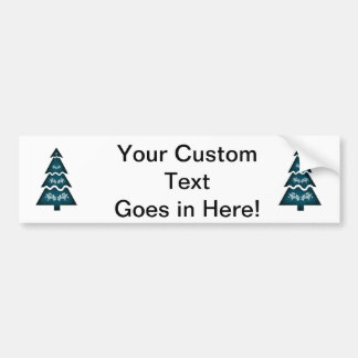 Christmas Tree Sectional call ornament 3.png Bumper Sticker