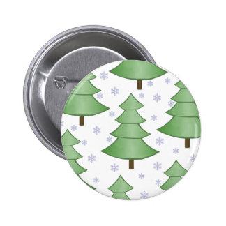 Christmas Tree Snow Button