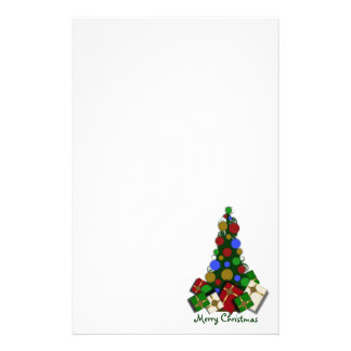 Christmas Tree Stationary Stationery