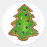 Christmas Tree Sugar Cookie Sticker