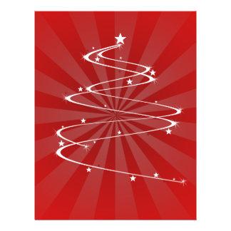 christmas tree swril 21.5 cm x 28 cm flyer