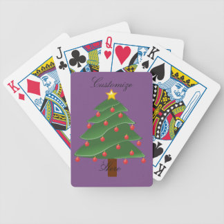 Christmas Tree Thunder_Cove Bicycle Playing Cards