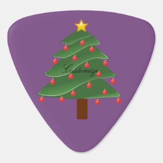 Christmas Tree Thunder_Cove Guitar Pick
