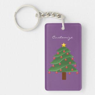 Christmas Tree Thunder_Cove Key Ring