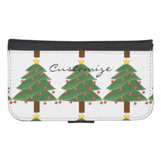 Christmas Tree Thunder_Cove Samsung S4 Wallet Case