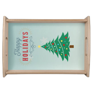 Christmas Tree Tray