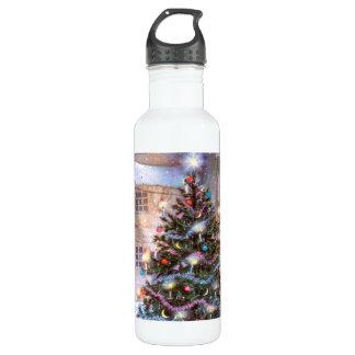 Christmas Tree Vintage 710 Ml Water Bottle