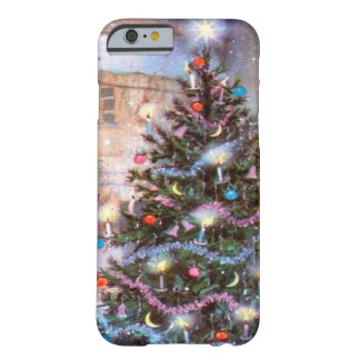 Christmas Tree Vintage Barely There iPhone 6 Case