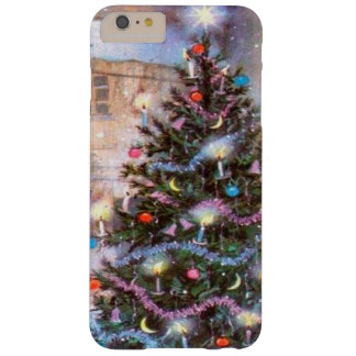 Christmas Tree Vintage Barely There iPhone 6 Plus Case