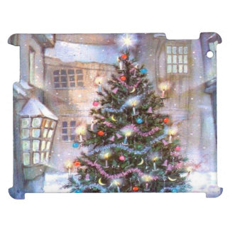 Christmas Tree Vintage Cover For The iPad