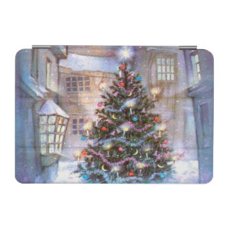 Christmas Tree Vintage iPad Mini Cover