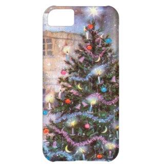 Christmas Tree Vintage iPhone 5C Case