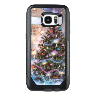 Christmas Tree Vintage OtterBox Samsung Galaxy S7 Edge Case