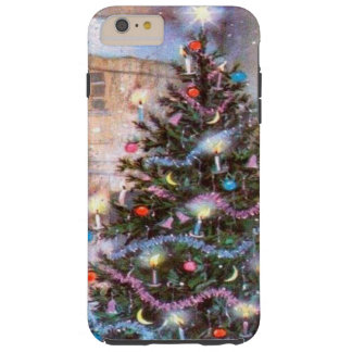 Christmas Tree Vintage Tough iPhone 6 Plus Case