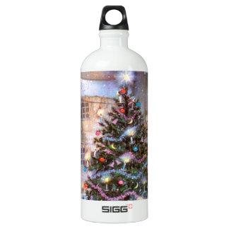 Christmas Tree Vintage Water Bottle