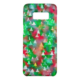 Christmas Tree Watercolor Pattern Case-Mate Samsung Galaxy S8 Case