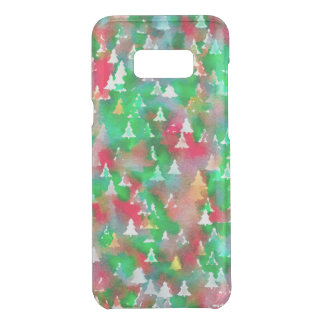 Christmas Tree Watercolor Pattern Uncommon Samsung Galaxy S8 Plus Case