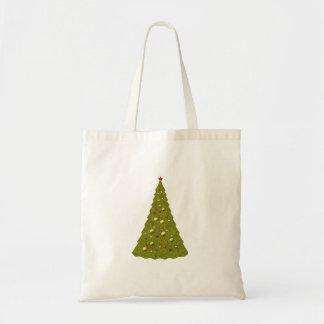 Christmas Tree White Christmas Shopping Bag