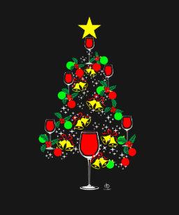 Wine Christmas Tree Shirt.Christmas Wine T Shirts Shirt Designs Zazzle Com Au