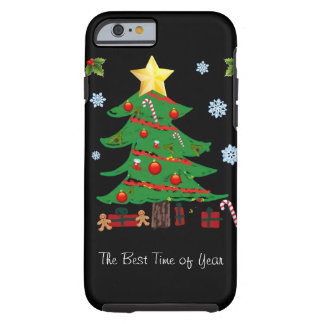 Christmas Tree with Gifts Holiday iPhone 6 case