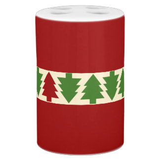 Christmas Trees Bathroom Set