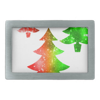 Christmas Trees Belt Buckle