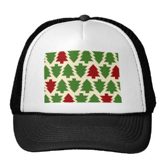 Christmas Trees Holiday Pattern Cap