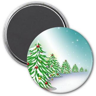 Christmas Trees Magnet
