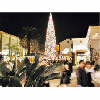 Christmas Trees Orniments Malls Cut Outs