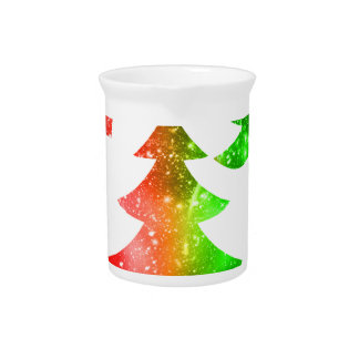 Christmas Trees Pitcher