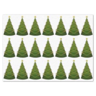 Christmas Trees Tissue Paper