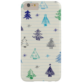 Christmas Tress pattern design Barely There iPhone 6 Plus Case