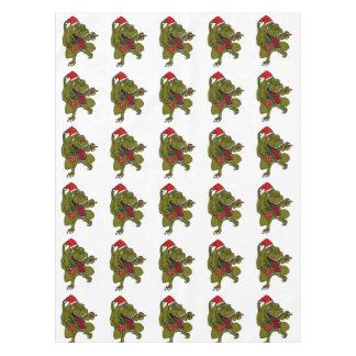 Christmas Trex Dinosaur Tablecloth