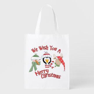 Christmas Trio Animal Wishes