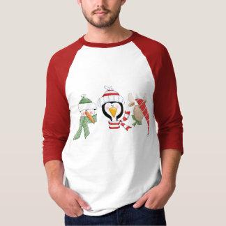 Christmas Trio Animals T Shirts