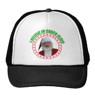 Christmas Tuckers hat -  I Believe in Santa Claus