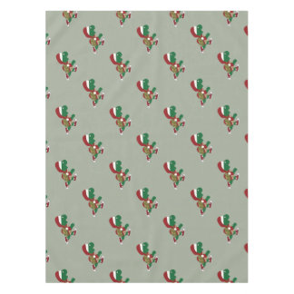 Christmas Turtle Runner Tablecloth