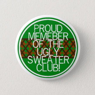 Christmas ugly sweater Gifts 6 Cm Round Badge