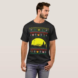 Christmas Ugly Sweater Heavy Equipment Operator