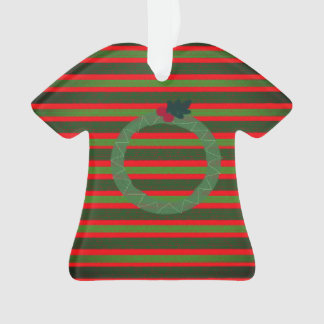 Christmas ugly sweater ornament