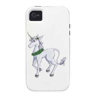Christmas Unicorn Vibe iPhone 4 Cover