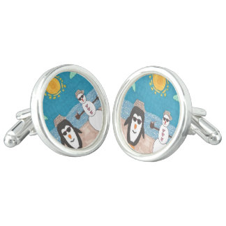 Christmas Vacation Cufflinks