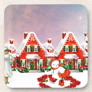CHRISTMAS VILLAGE COASTER